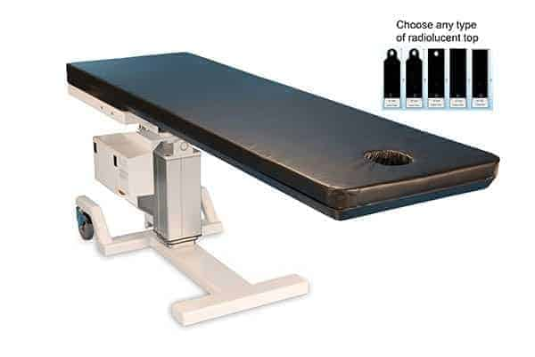 PMT 8000 HES-CO PAIN MANAGEMENT C-ARM TABLE