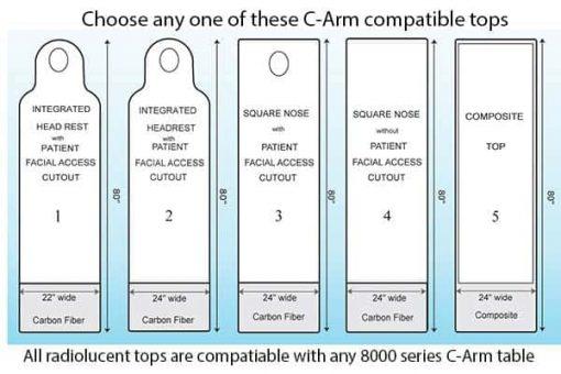 c-arm-table-top-options-PMT-8000HLTES