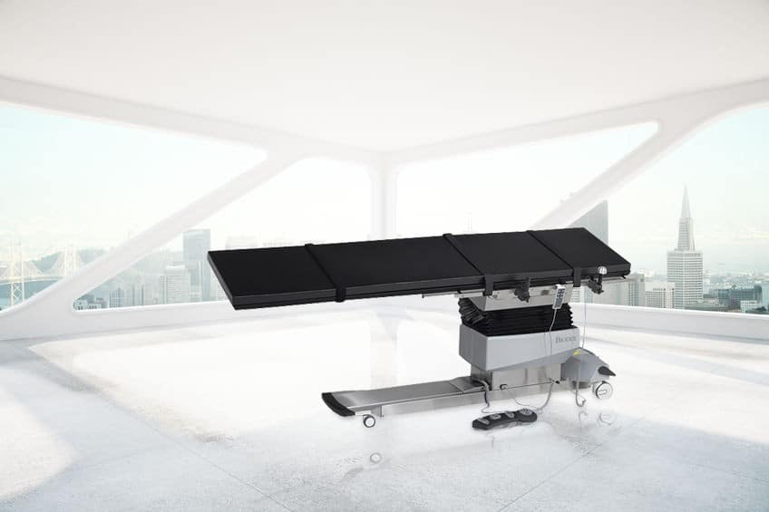 BIODEX 840 VASCULAR C-ARM TABLE