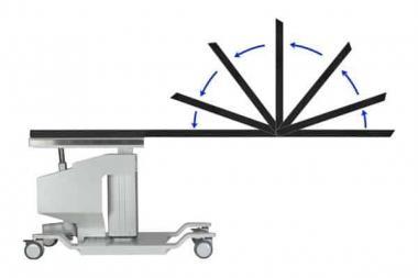 Folding C-arm Table Top