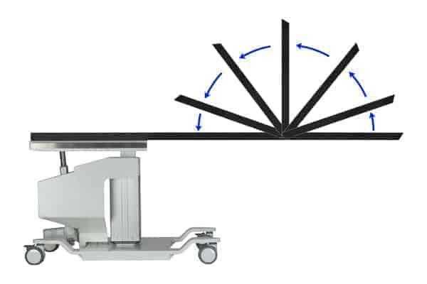PMT 8000 HTES-FT PAIN MANAGEMENT C-ARM TABLE