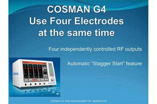 cosman-g4-pain-management-rf-generator-use-4-electrodes-at-the-same-time
