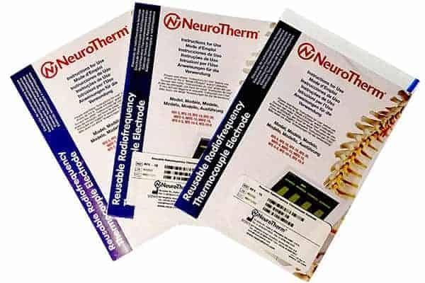 NEUROTHERM RF ELECTRODES